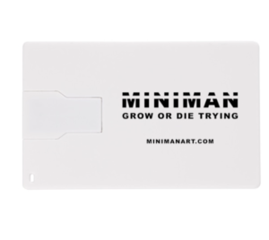 MINIMAN ART USB DRIVE