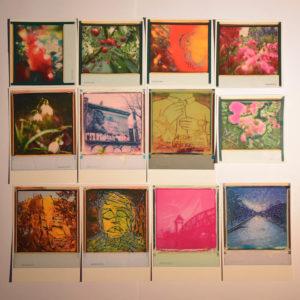 Miniman art postcard set